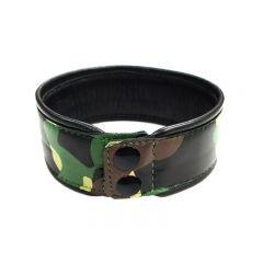 Leather Camo Arm Band