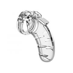 03 - Chastity Cock Cage - Clear - 4.5inch