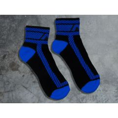 ADDICTED Fetish Ankle Sock - Royal Blue