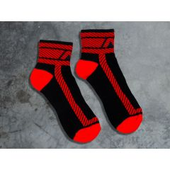 ADDICTED Fetish Ankle Sock - Red