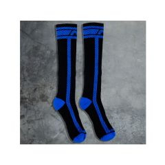 ADDICTED Fetish Long Sock - Royal Blue