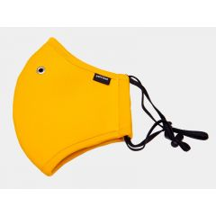 Barcode Commander Aiden Face Mask - Yellow
