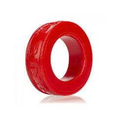 OXBALLS Pig-Ring Silicone Cockring - Red