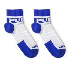 Pump! All-Sport Ice Socks 2-Pack - White Blue