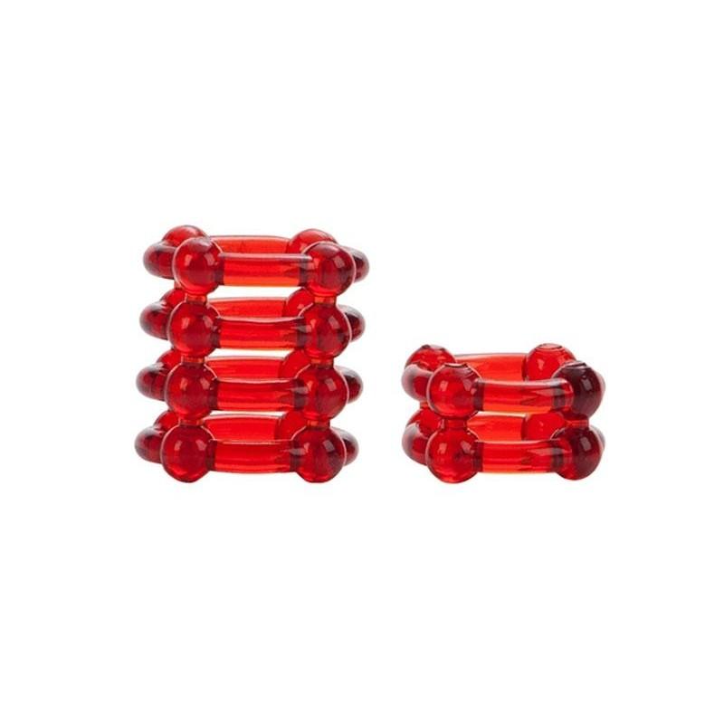 Colt Silicone Super Cock Rings - Red - esmale - cockring - Esmale Ltd