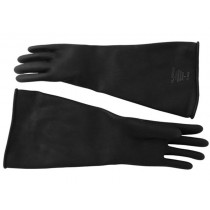 Thick Industrial Rubber Gloves - Size 8