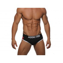 ADDICTED Pack Up Sport Brief - Black