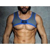 ADDICTED Fetish Spacer Harness - Royal Blue