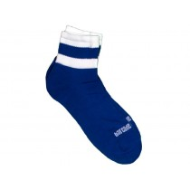 Barcode Socks Petty - Blue White - S/M