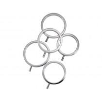 ElectraStim Solid Metal Cock Ring Set - 5 Sizes, cock ring