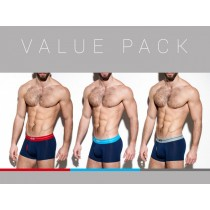 ES Collection 3 Pack Modal Boxer - 3 colours