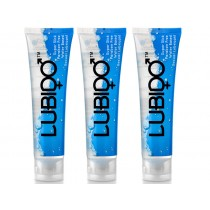 Lubido Water Based Lubricant - 100ml - Triple Pack, lube