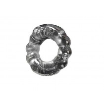 OXBALLS Atomic Jock 6-Pack Super Stretchy Cock Ring - Clear