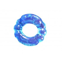 OXBALLS Atomic Jock 6-Pack Super Stretchy Cock Ring - Ice Blue