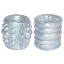 OXBALLS Slug-1 Reversible Ball Stretcher (Silver)