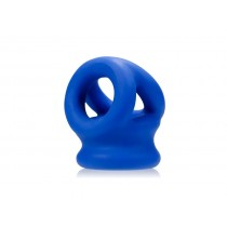 OXBALLS Tri-Squeeze Stretch Sling - Cobalt Blue Ice