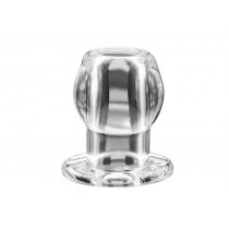 Perfect Fit Ass Tunnel Large Clear Butt Plug