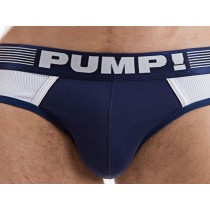 Pump! Ribbed Brief - Navy
