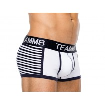 Teamm8 Stadium Trunk - White
