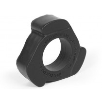 Keep Burning LG Cock Shift Silicone Cock Ring - Black