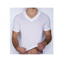 C-IN2 ZEN V Neck - White