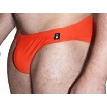 DARKROOM Swim Backless Bikini - Orange-Front