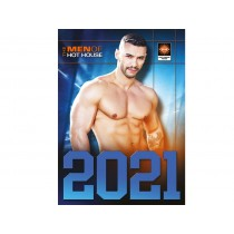 Men Of Hot House Calendar - 2021 - Front