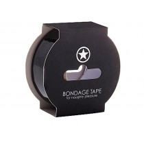 Non Sticky Bondage Tape - 17.5 metres - Black