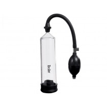 Toy Joy Power Penis Pump (Black-Clear)