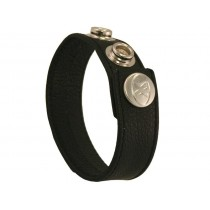Leather Cock Ring/Strap Wide Plain